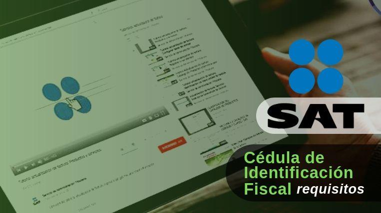 Cuáles son los requisitos para la Cédula de Identificación Fiscal