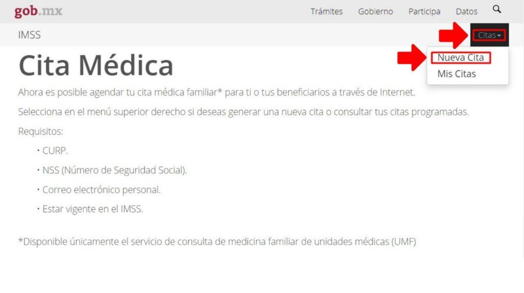 Nueva Cita Médica