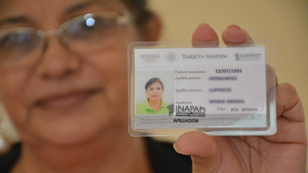 Qué es la tarjeta del INAPAM