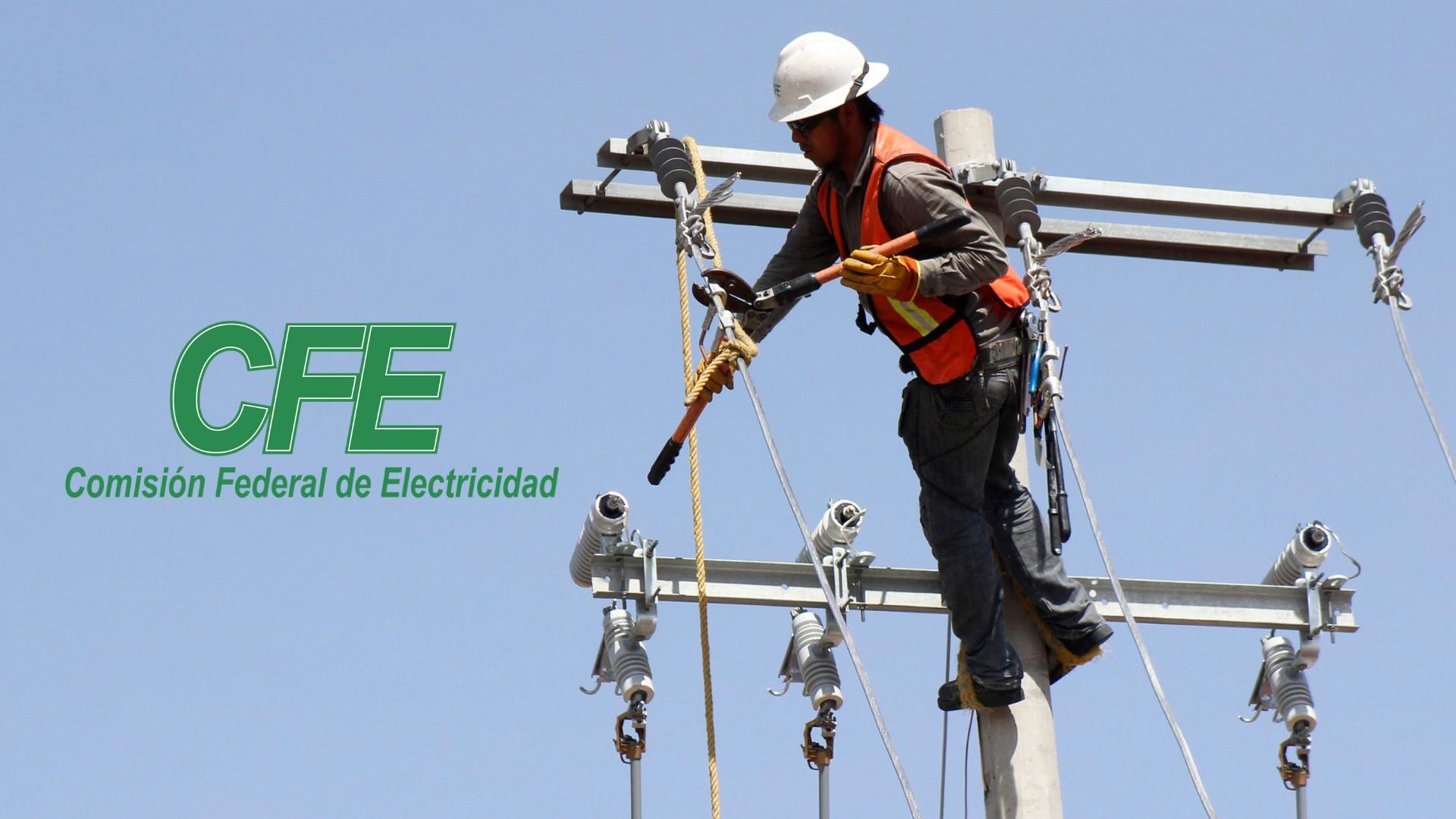 Reporte CFE: fallas eléctricas
