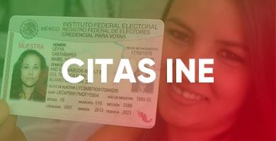 Citas INE CREDENCIAL DE ELECTOR