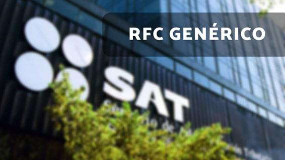el rfc genérico